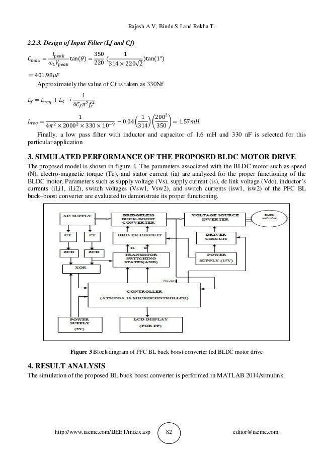 Rajesh A V, Bindu S J.and Rekha T. http://www.iaeme.com/IJEET/index.asp 82 editor@iaeme.com 2.2.3. Design of Input Filter ...