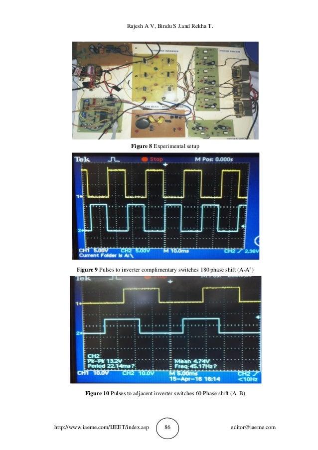 Rajesh A V, Bindu S J.and Rekha T. http://www.iaeme.com/IJEET/index.asp 86 editor@iaeme.com Figure 8 Experimental setup Fi...