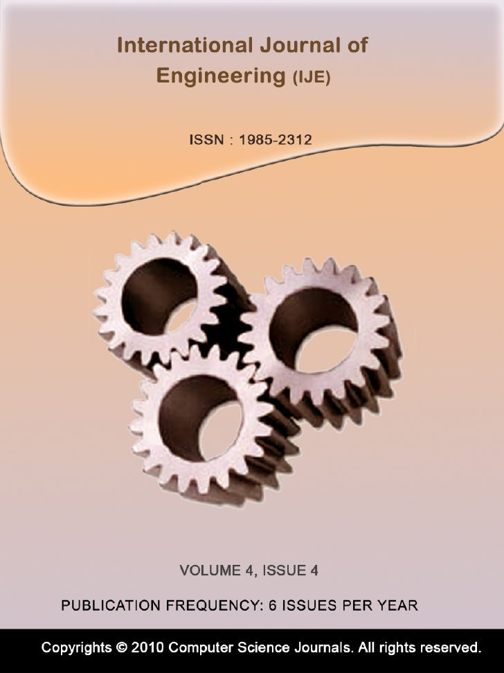 International Journal of Engineering (IJE) Volume (4) Issue (4)