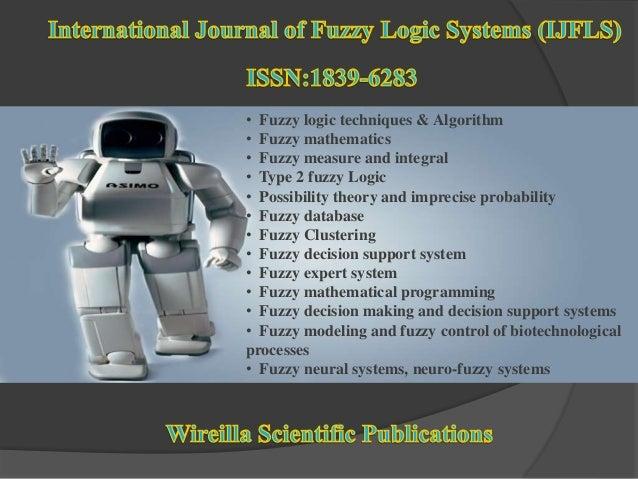 International Journal of Fuzzy Logic Systems (IJFLS)  Slide 2