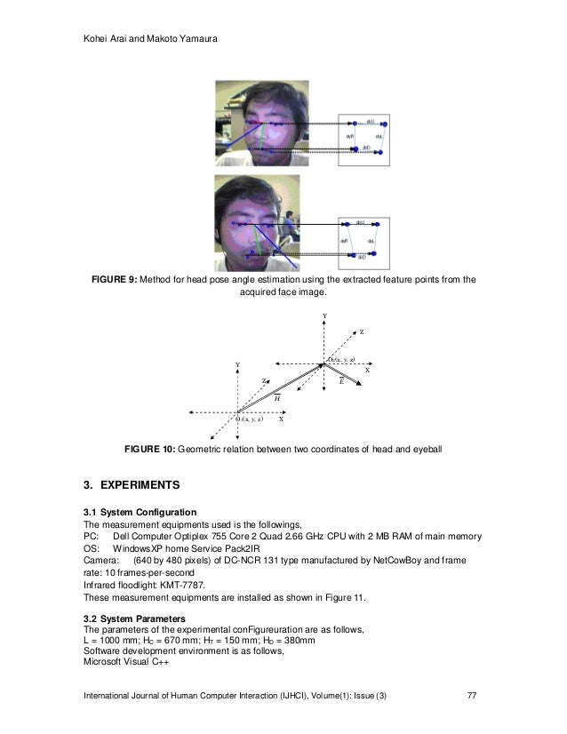 Computer Input with Human Eyes-Only Using Two Purkinje Images Which W…