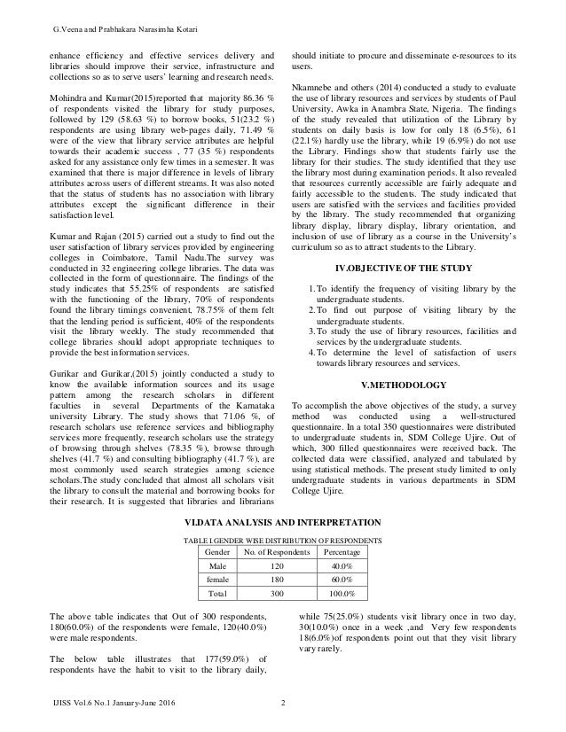 report on college library facilities