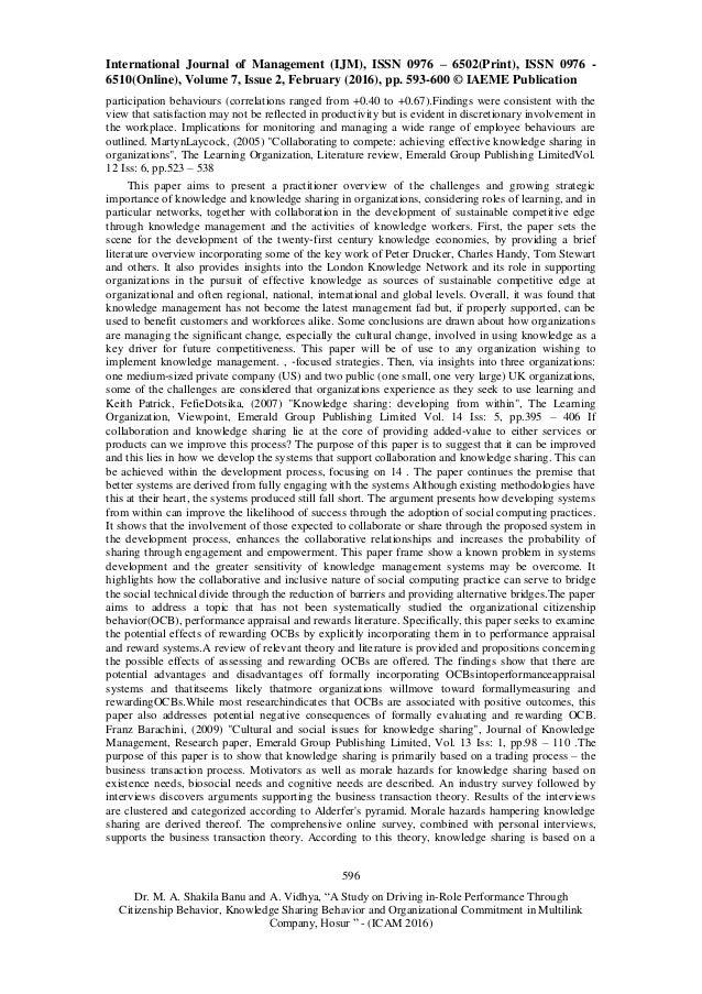 organization citizenship behavior for organizational performance Organizational citizenship behavior- individual or organizational - download as pdf file (pdf), text file (txt) or read online.