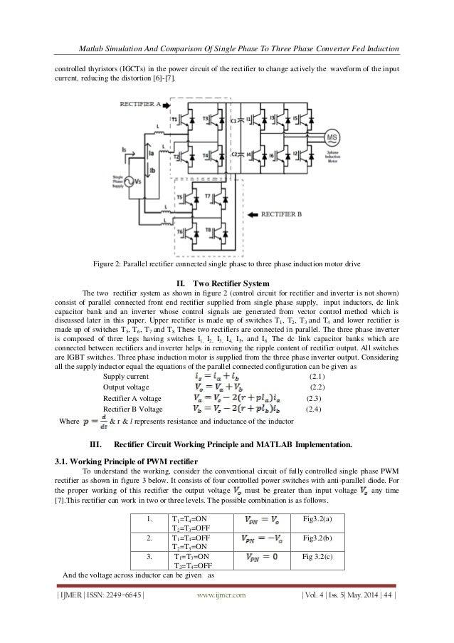 Simulation of single phase induction motor using matlab