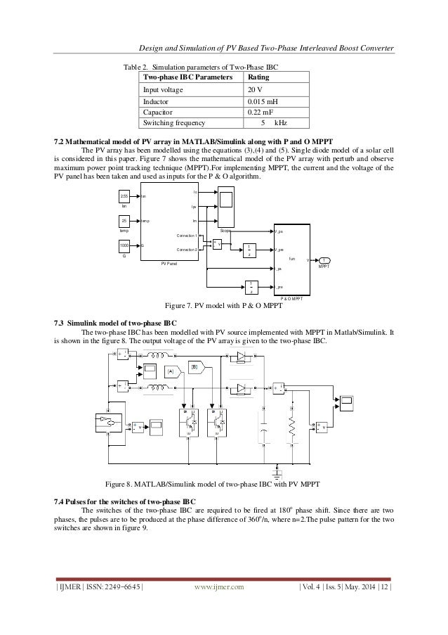 Boost Switching Converter Design Equations