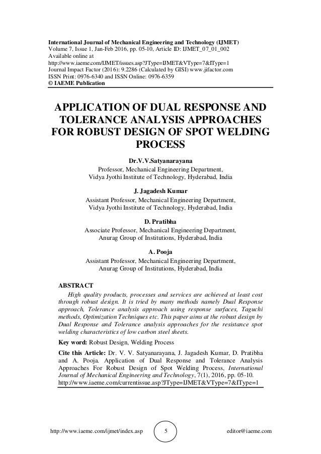 http://www.iaeme.com/ijmet/index.asp 5 editor@iaeme.com International Journal of Mechanical Engineering and Technology (IJ...