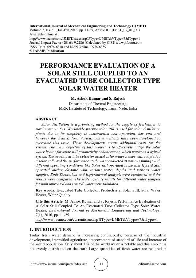 http://www.iaeme.com/ijmet/index.asp 11 editor@iaeme.com International Journal of Mechanical Engineering and Technology (I...