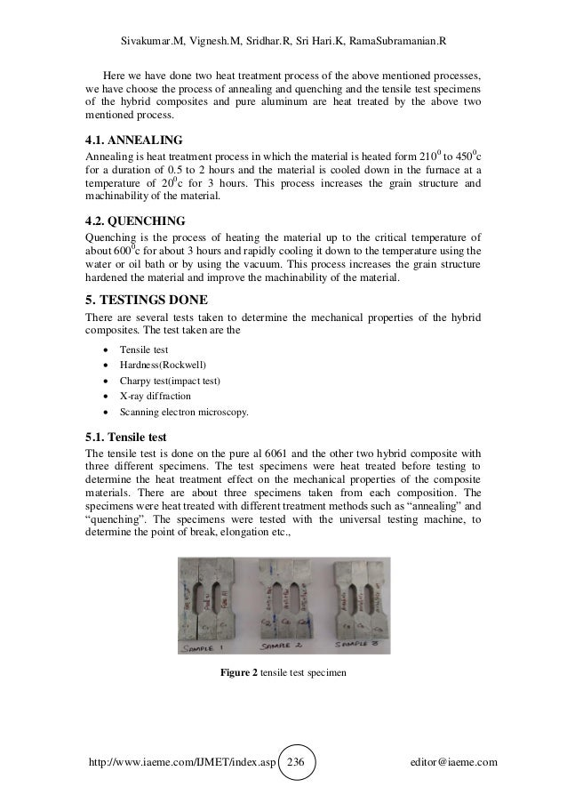 an analysis of the properties of aluminum Chemical properties, health and environmental effects of aluminum.