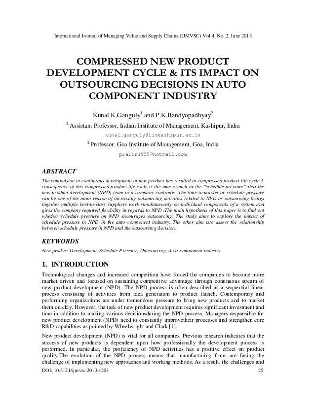 International Journal of Managing Value and Supply Chains (IJMVSC) Vol.4, No. 2, June 2013 DOI: 10.5121/ijmvsc.2013.4203 2...