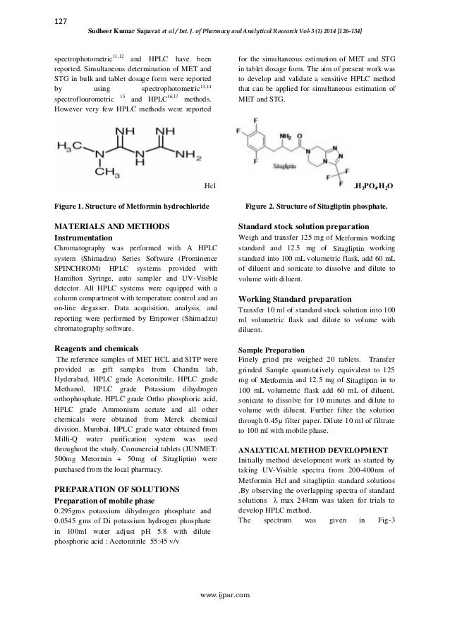 hplc research papers International journal of pharmaceutical sciences review and research page  39  keywords: ramipril, pharmaceutical preparation, hplc, validation   paper an appropriate volume of filtrate was diluted further with methanol so that  the.