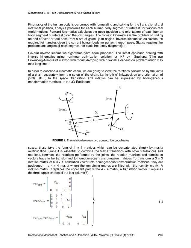 Human Arm Inverse Kinematic Solution Based Geometric