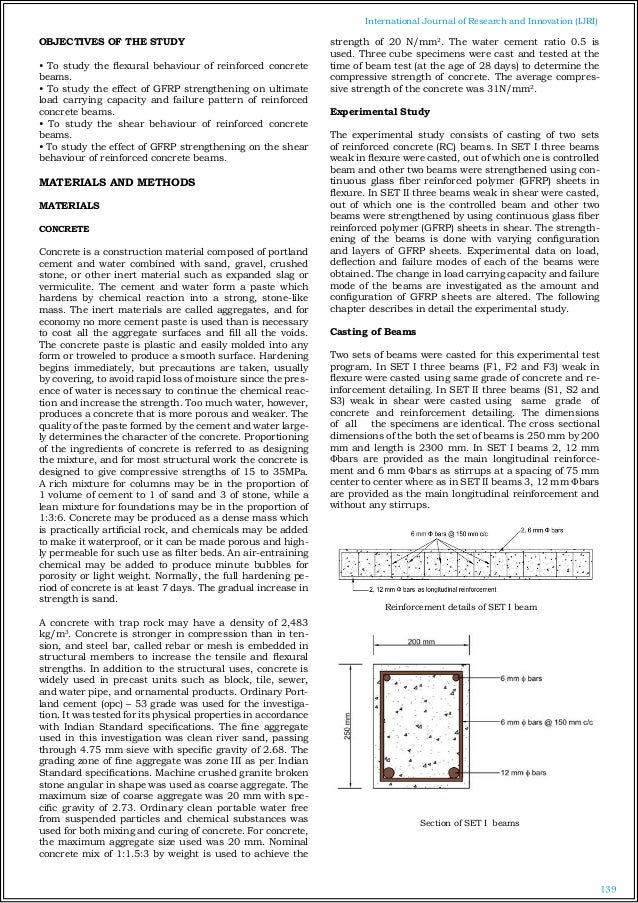A Review On Strengthening Of Reinforced Concrete Beams