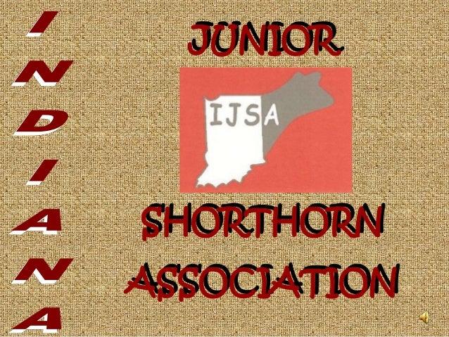 JUNIOR SHORTHORN ASSOCIATION