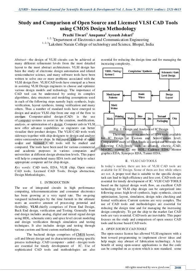 Research papers on vlsi research prospectus example