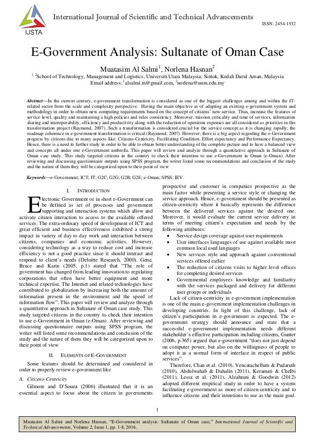 e-government research papers