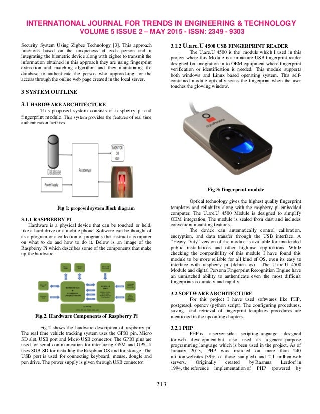 biometric based web security using ridges Implement a locker high security system based on rfid security system using the biometric with locker opening and closing system using rfid.