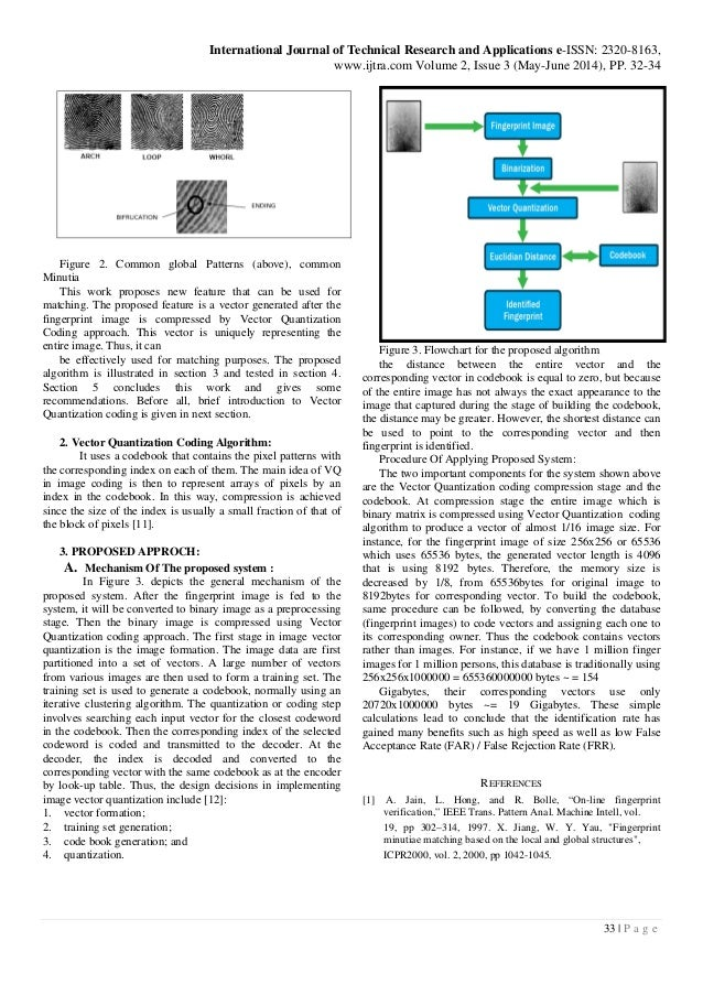 A new coding method in pattern recognition fingerprint for Quantization table design revisited for image video coding