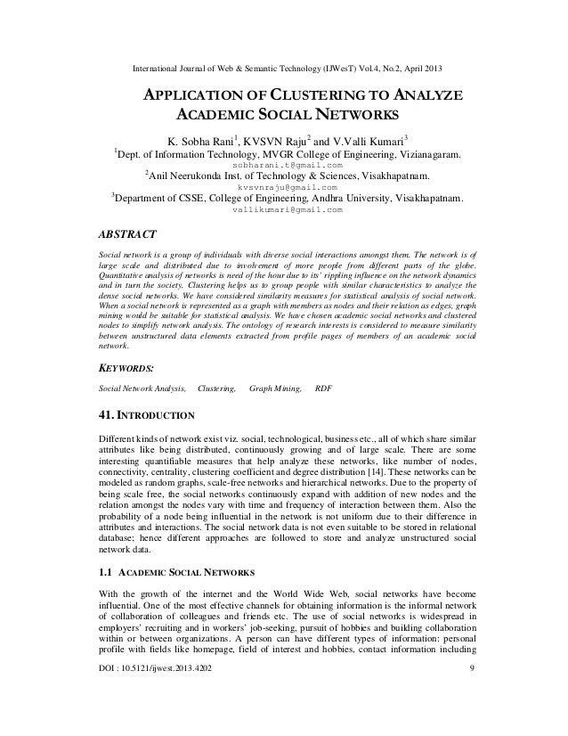 International Journal of Web & Semantic Technology (IJWesT) Vol.4, No.2, April 2013DOI : 10.5121/ijwest.2013.4202 9APPLICA...