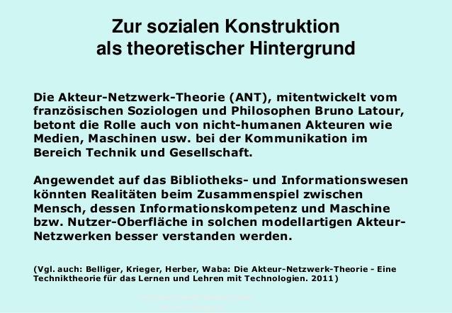 Technische Universität Hamburg-Harburg www.tub.tu-harburg.de Zur sozialen Konstruktion als theoretischer Hintergrund Die A...