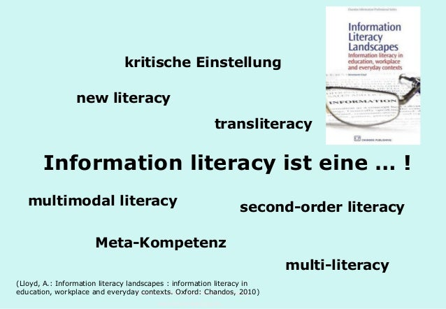Technische Universität Hamburg-Harburg www.tub.tu-harburg.de Information literacy ist eine … ! kritische Einstellung new l...