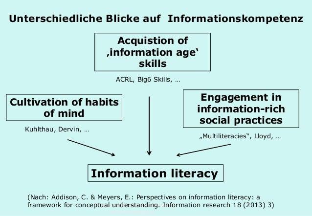 Technische Universität Hamburg-Harburg www.tub.tu-harburg.de Unterschiedliche Blicke auf Informationskompetenz Information...