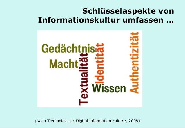 Technische Universität Hamburg-Harburg www.tub.tu-harburg.de Schlüsselaspekte von Informationskultur umfassen … Textuality...