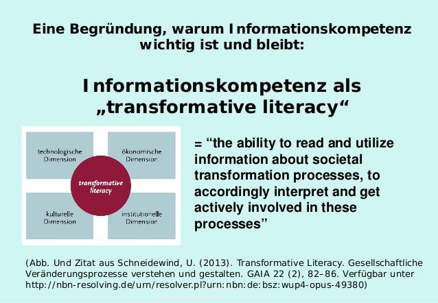 Technische Universität Hamburg-Harburg www.tub.tu-harburg.de Eine Begründung, warum Informationskompetenz wichtig ist und ...