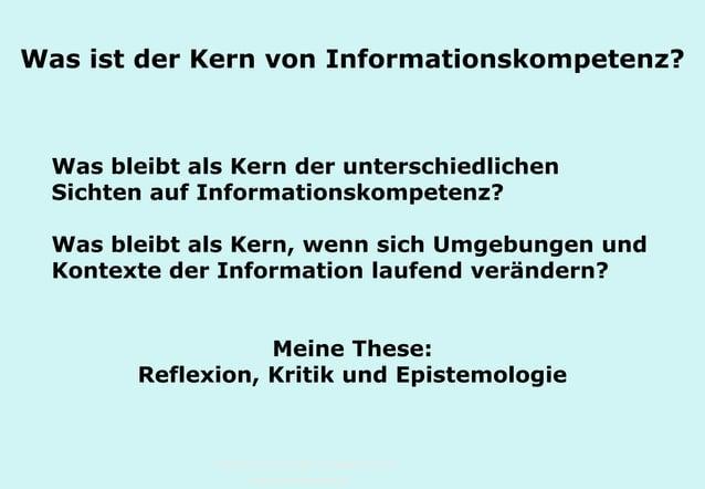 Technische Universität Hamburg-Harburg www.tub.tu-harburg.de Was ist der Kern von Informationskompetenz? Was bleibt als Ke...