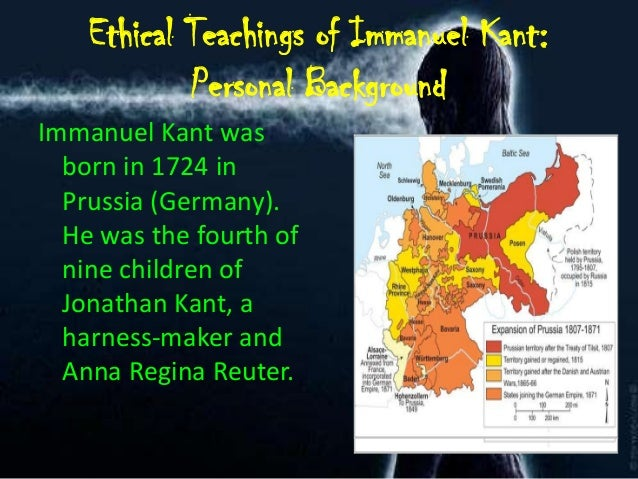 an analysis of immanuel kants moral theory Immanuel kant (22 april 1724 – 12 february 1804) was a german philosopher he was born in königsberg, east prussia, and also died there kant studied philosophy in.