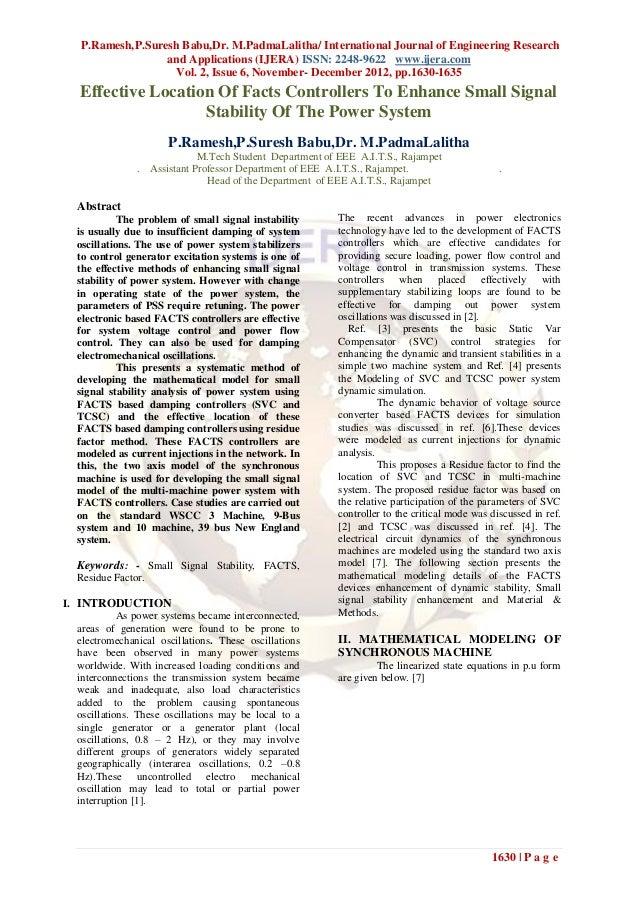 P.Ramesh,P.Suresh Babu,Dr. M.PadmaLalitha/ International Journal of Engineering Research                   and Application...