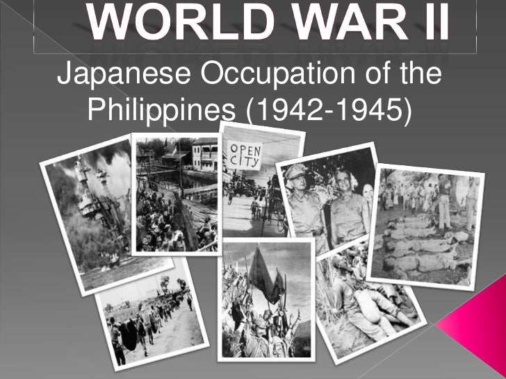 Japanese Occupation of the  Philippines (1942-1945)
