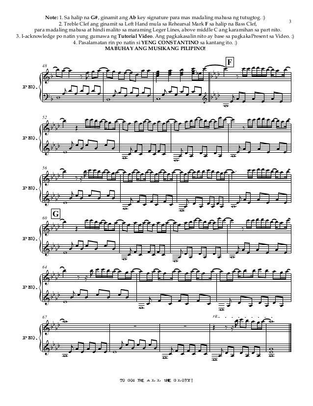 glory john legend piano sheet music pdf