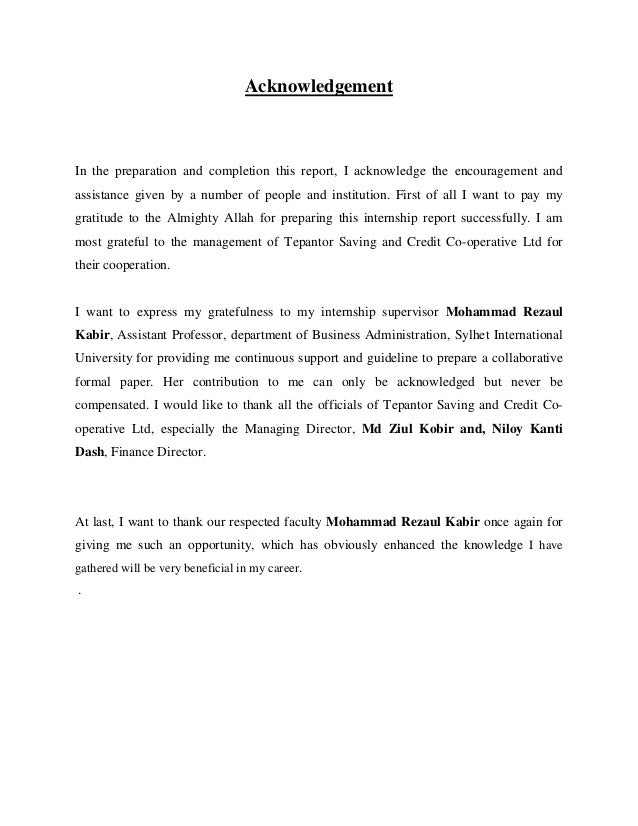 Acknowledgement In the preparation and completion this report, I acknowledge the encouragement and assistance given by a n...