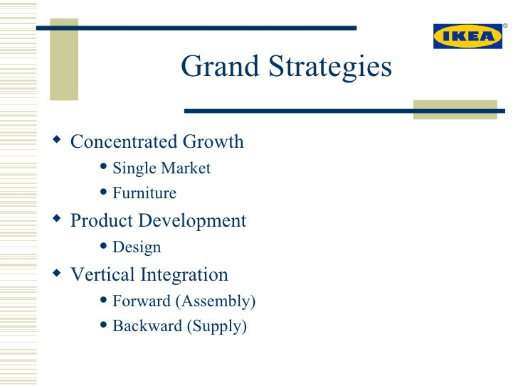 IKEA and Vertical Integration