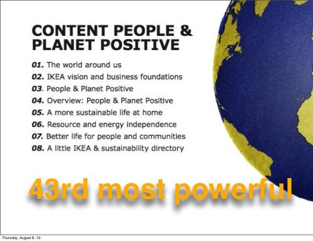 Ikea sustainability - What Matters @Work? Slide 2
