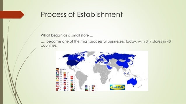 Process of Establishment What began as a small store … …. become one of the most successful businesses today, with 349 sto...