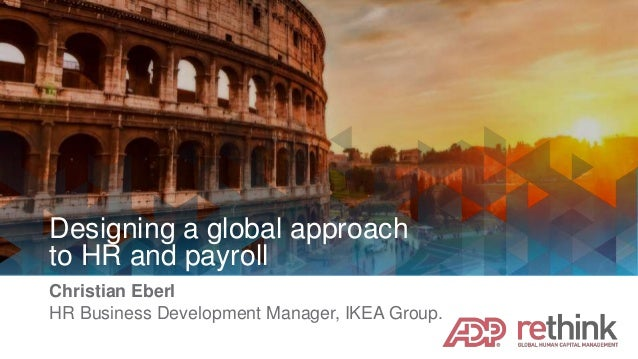 Designing a Global Approach to HR and Payroll
