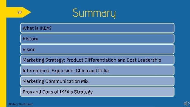 does marketing mix contribute to success ikea Global value chains in a changing world.