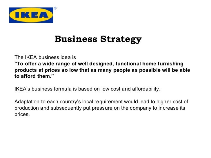 ikea global expansion strategy