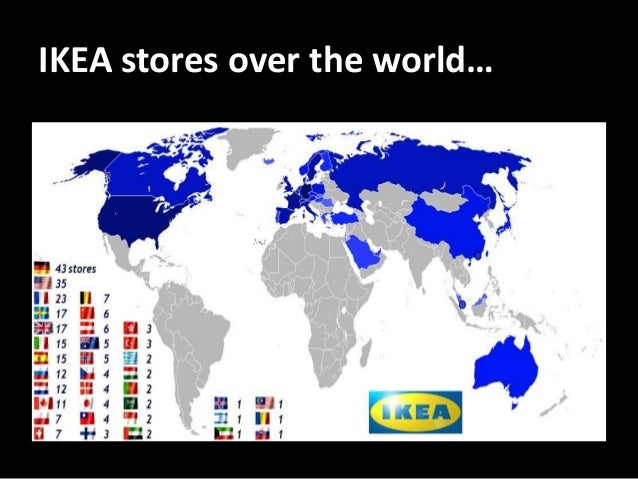 IKEA Supply Chain Mangament - Maps of ikea us