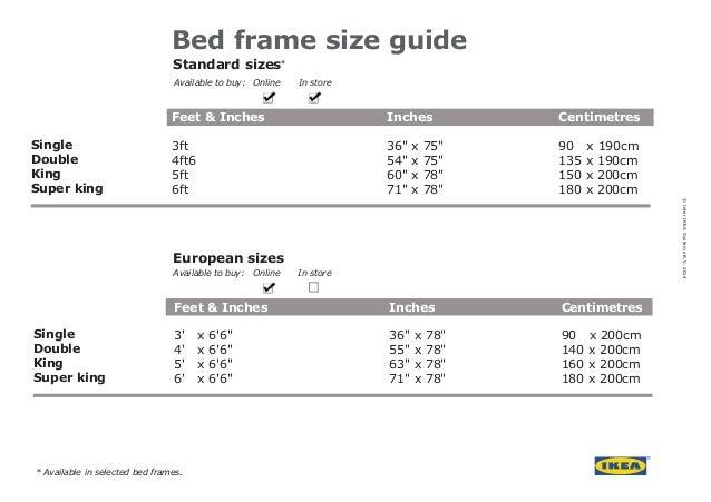 European Size Mattress Ikea Bed Frame Guide