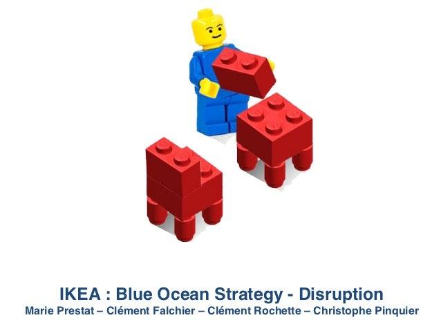 IKEA : Blue Ocean Strategy - Disruption!Marie Prestat – Clément Falchier – Clément Rochette – Christophe Pinquier!