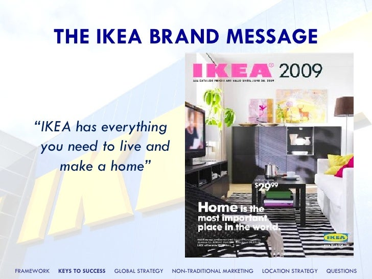 ikea and global branding Ikea's provincial charm and build-it-yourself ethic mask the power and reach of a profitable global marque, writes john simmons.