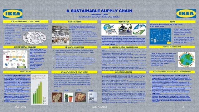 ikea s cost efficient supply chain Supply chain integration ikea is committed to long lasting relationships with its suppliers in this way, the company can order large volumes and benefit from lower prices and greater.