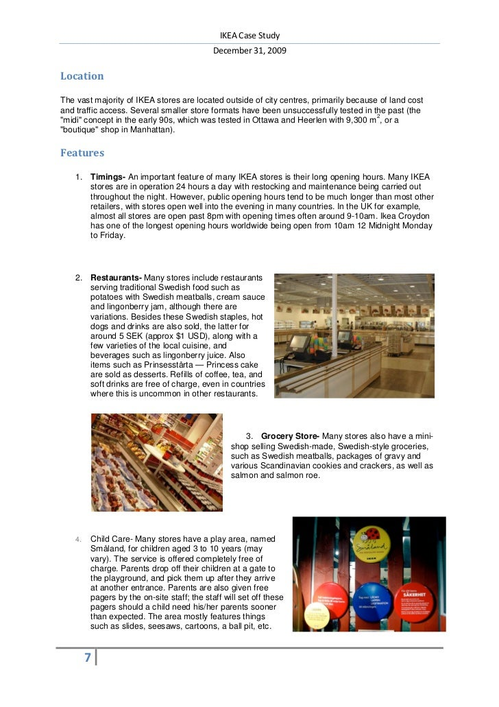 international market operations ikea case study Ikea case study  nestle case study free sample ikea: strategic analysis 100000+ students can't compare and contrast ikea's operations performance objectives.