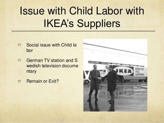 Ikea case study on child labor