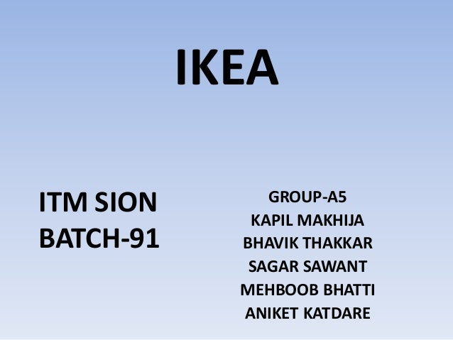 Ikea global sourcing challenge case study, Research paper Example