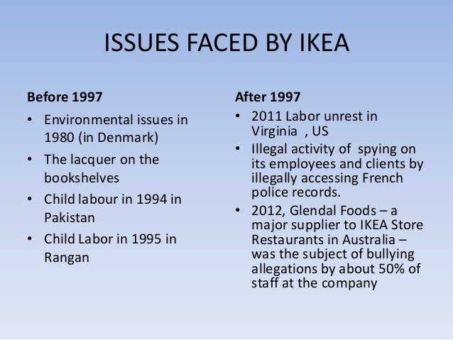 """ikea case study answers """"ikea and emerging market strategy: can ikea adapt its unique service experience to india"""" by tom mcnamara and irena descubes the esc rennes school of business working paper – october 13, 2014 ikea, the world's largest furniture retailer, is known for its reasonably priced functional furniture that incorporates minimalist swedish design."""