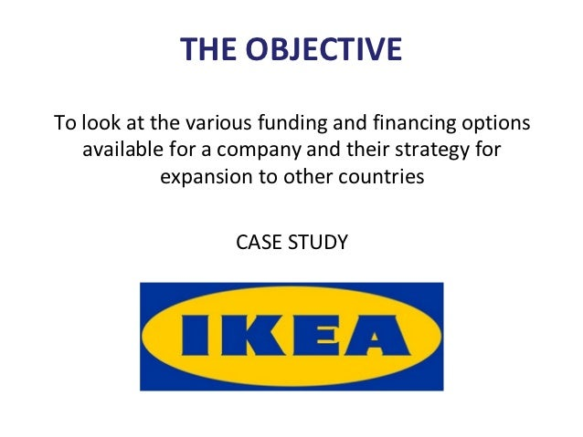 ikea furniture retailer to the world case A case study on ikea : furniture retailer to the world abstract : the case study will look into the development of ikea from a small swedish furniture company to.