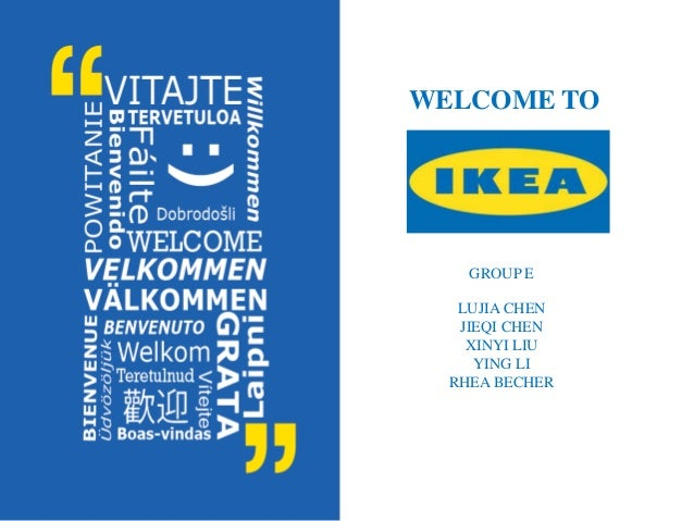consumer behaviour at ikea What pops up into your mind when thinking about ikea we'll mail you a brief overview of what's happening in the world of marketing and consumer behaviour.